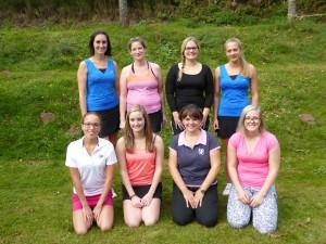 Damenmannschaft 2015